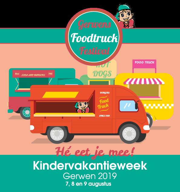 logo Kindervakantieweek Gerwen 2019 Food truck festival