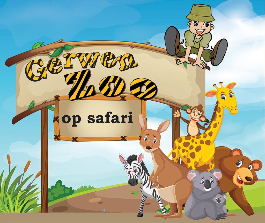 Gerwen ZOO op safari